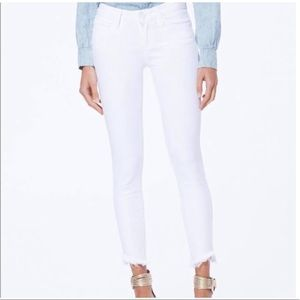 PAIGE white Jean New without tag